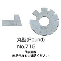 フジツール アクメゲージ 丸型 No.718 1個 (直送品)