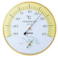 佐藤計量器製作所 ハーモニー温湿度計 1個 (直送品)