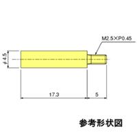 テクロック フラット測定子 ZS-594 1個 (直送品)