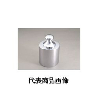 新光電子 基準分銅型円筒分銅(非磁性ステンレス) F2CSB-500G 1個 (直送品)