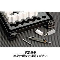 ドムコーポレーション サブミクロン精度ピンゲージセット(0.001とび) DT-100 9.997〜10.010 1台 (直送品)