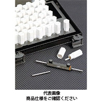 ドムコーポレーション ピンゲージセット(0.01とび) DP-6A 6.00〜6.50 1台 (直送品)