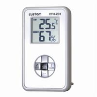 カスタム デジタル温湿度計 CTH-201 1個 (直送品)