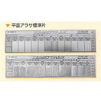 日本金属電鋳 平面アラサ標準片 2枚組 1組 (直送品)