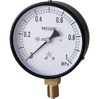 右下精器製造 一般圧力計 G411-211-M-1MP 1個 365-8899 (直送品)