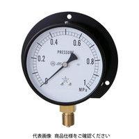 右下精器製造 一般圧力計 G321-211-V-4MP 1個 325-9919 (直送品)