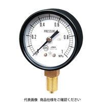右下精器製造 一般圧力計 G211-111-M-0.4MP 1個 325-9391 (直送品)