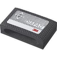 フレキシブルダイヤモンドハンドラップスS #120 55X90mm 黒 6200J S M18-125 220-7613 (直送品)
