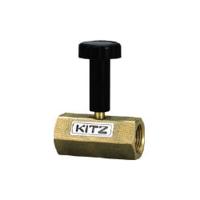 キッツ(KITZ) 青銅製圧力計ゲージバルブ 8A BCGVL8A 1本 295-9470 (直送品)