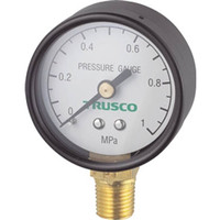 トラスコ中山(TRUSCO) 圧力計 表示板径Φ50 立型口径R1/4表示 TP-G50A 1個 258-8277 (直送品)