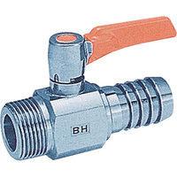 アソー(ASOH) エースボールZero ホースニップル型 PT1/2XΦ14 BH-0414 1個 382-1471 (直送品)