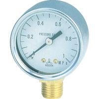 日本精器 圧力計40mm1/4 PG40A-10K 1個 103-6238 (直送品)
