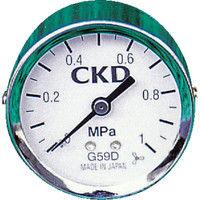 CKD(シーケーディー) 圧力計 G49D-6-P10 1個 112-3211 (直送品)