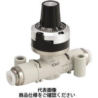 CKD(シーケーディー) ダイヤル付ニードルバルブ DVLシリーズ DVL-S-06-H66-020 1個 332-4931 (直送品)