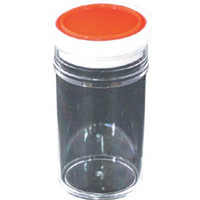瑞穂化成工業 スチロール棒瓶50ml 0435 1個 294-3611 (直送品)