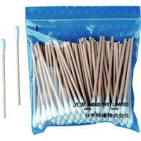 日本綿棒 JCB 工業用綿棒A3S-100 (100本入) A3S-100 1袋(100本) 298-1351 (直送品)