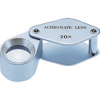 京葉光器 リーフ アクロマートC型ルーペ ALC-20 1個 219-1148 (直送品)