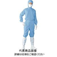 東洋リントフリー Linet クリーンスーツ LL ブルー FH199C02LL 1着 388ー2136 (直送品)