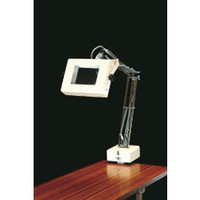 esco(エスコ) x4.0/100x140mm照明付拡大鏡 EA756TB-4 1個 (直送品)