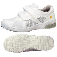 ミドリ安全 2105100811 静電作業靴 エレパス307 白 26.0cm 1足 (直送品)