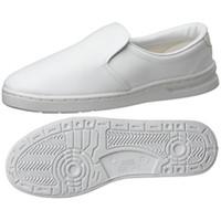 ミドリ安全 2105105009 男女兼用 静電作業靴 エレパス M101 白25.0cm 1足 (直送品)