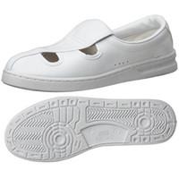 ミドリ安全 2105105209 男女兼用 静電作業靴 エレパス M102 白25.0cm 1足 (直送品)