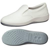 ミドリ安全 2100107012 静電作業靴 エレパス SU401 白 26.5cm 1足 (直送品)