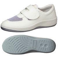 ミドリ安全 2100107404 静電作業靴 エレパス SU403 白 22.5cm 1足 (直送品)