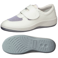ミドリ安全 2100107407 静電作業靴 エレパス SU403 白 24.0cm 1足 (直送品)