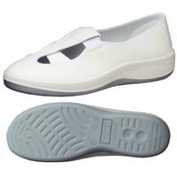 ミドリ安全 2100107212 静電作業靴 エレパス SU402 白 26.5cm 1足 (直送品)