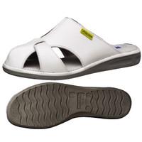 ミドリ安全 2100111004 静電作業靴 エレパスクールライトN 白 L 1足 (直送品)