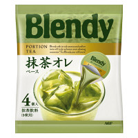 【アウトレット】AGF ブレンディポーションティー 抹茶オレベース 1袋(4個入)