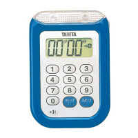 タニタ 防水大音量 タイマー TD-377 ブルー 8644700 EBM (取寄品)