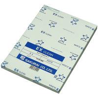 桜井 クリーンペーパー EXクリーン ホワイト A4 250枚 EX72WA4T 1箱(2500枚:250枚×10冊)