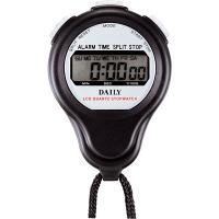 リズム時計 1/100秒 防滴 ストップウォッチBS LC059DA02