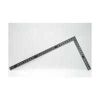 シンワ測定 曲尺小型 溝付 ステン 裏面角目 呼寸 33×15cm 12017 1本 (取寄品)