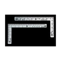 シンワ測定 曲尺小型 三寸法師ステン10×5cm 表裏同目 呼寸 10.5×5cm 12101 1本 (取寄品)