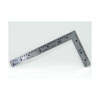 シンワ測定 曲尺小型三寸法師ステン 表裏同目 3×1.5寸/10.5cm 12102 1本 (取寄品)