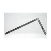 シンワ測定 曲尺小型 平 ステン 裏面角目 呼寸 33×15cm 12114 1本 (取寄品)