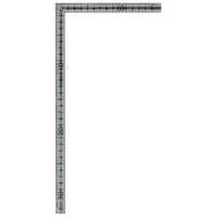 シンワ測定 曲尺小型 溝付 ステン 表裏同目 呼寸 33×15cm 12130 1本 (取寄品)