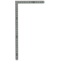 シンワ測定 曲尺小型 平 ステン 表裏同目 呼寸 33×15cm 12325 1本 (取寄品)