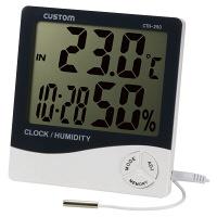 カスタム デジタル温湿度計 CTH-250 (直送品)