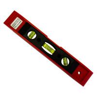 アークランドサカモト(ARCLAND SAKAMOTO) プラスチックレベル200mm マグネット付 N04120 1セット(10本) (直送品)