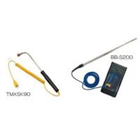 文化貿易工業 BBK デジタル温度計セット(空調用プローブ付+表面センサー) BBTM-1411 1個 (直送品)