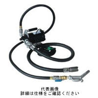 アクアシステム(AQUA SYSTEM) ハンディ電動オイルポンプ100Vホース接続(オイル用)大容量 EVH-100H 1台 (直送品)