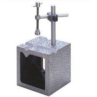 大菱計器製作所 鋳鉄製 V溝付桝形ブロック 特級 500 JK110 1台 (直送品)