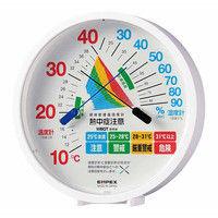 環境管理・温湿度計(熱中症) TM-2484W エンペックス (直送品)