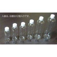 esco(エスコ) 100mlPET容器(12個) EA508AJ-111 1セット(36個:12個入×3袋) (直送品)