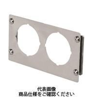 岩田製作所 計測機器 圧力ゲージブラケット(アナログ用) ストレートタイプ PAS2-01S 1セット(5個) (直送品)