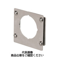 岩田製作所 計測機器 圧力ゲージブラケット(アナログ用) ストレートタイプ PAS1-01S 1セット(5個) (直送品)